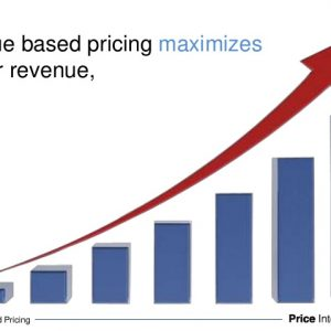 How to apply a pricing policy based on the value of the product?