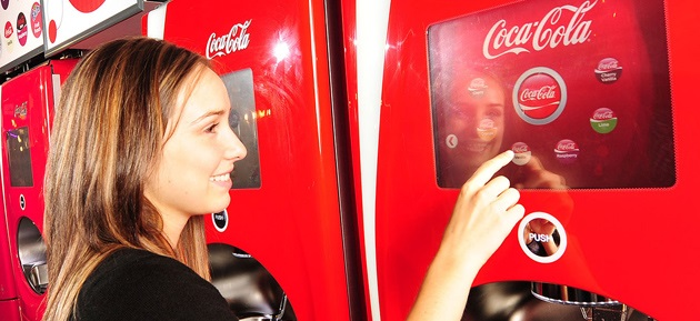 The last strategy Coca-Cola vending machines with free WiFi