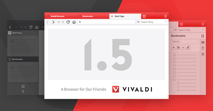 Vivaldi gets its version 1.5 synchronizing with smart-homes, improving tabs and with a reading mode
