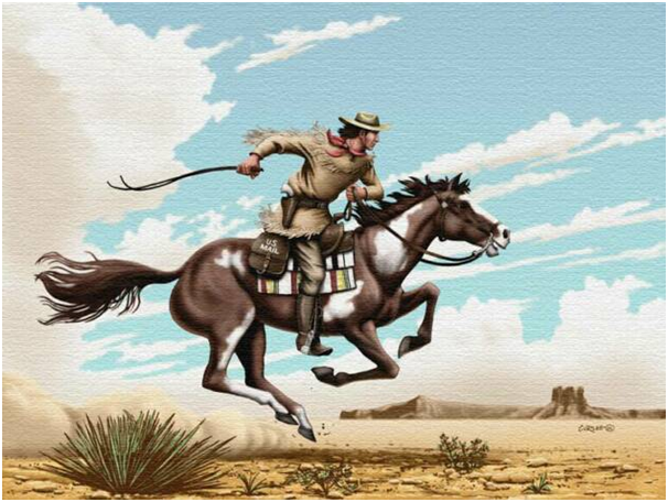 The Short but Fast History of the Pony Express