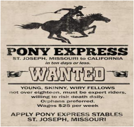 The Short but Fast History of the Pony Express2
