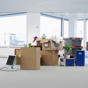 Organising a commercial move