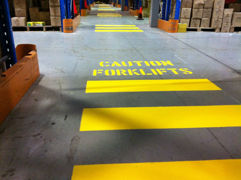 Safety after installing warehouse racking