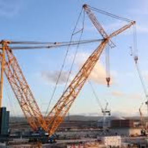 Where is the biggest Crane in the World?