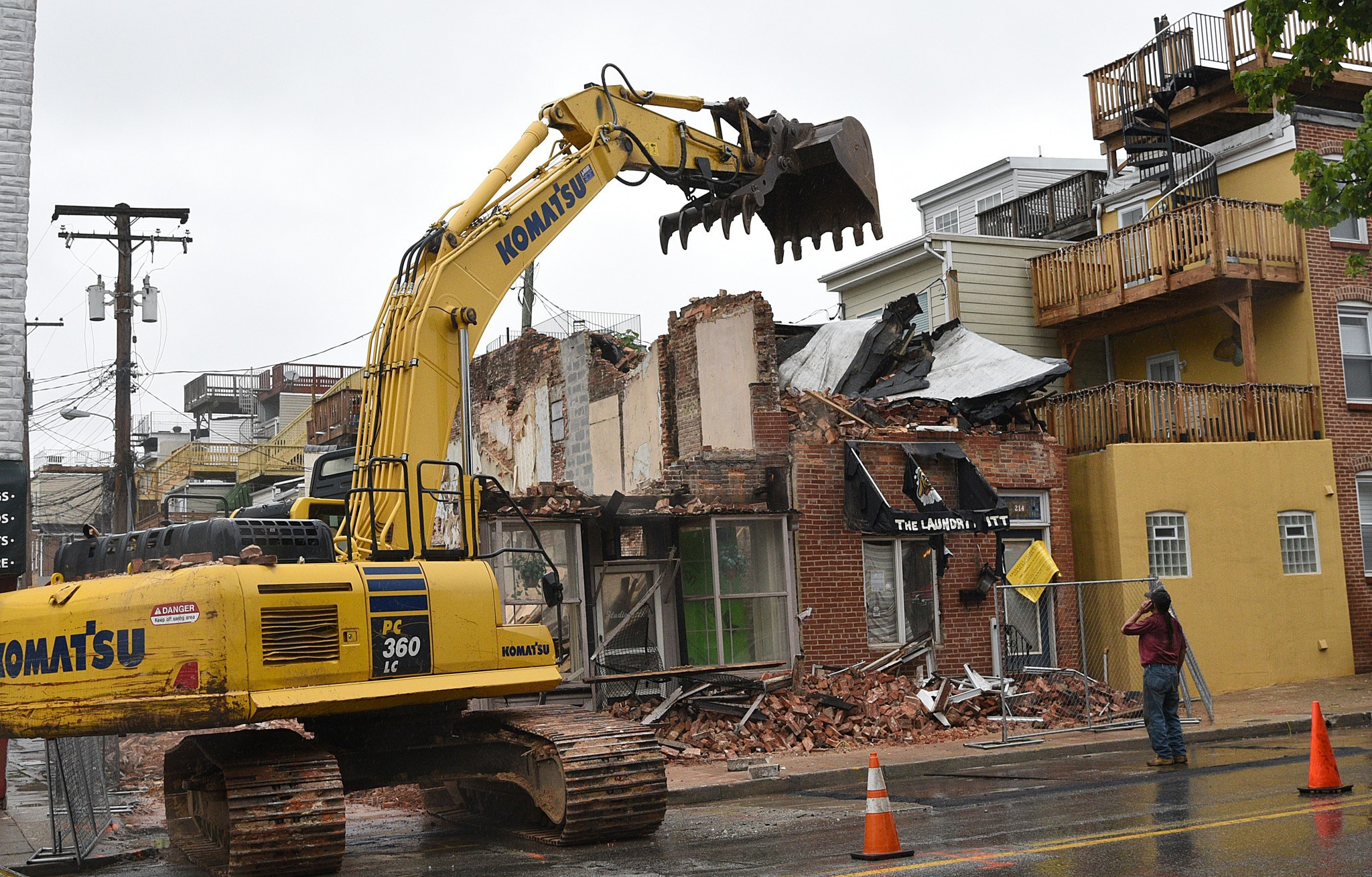 Methods of demolition